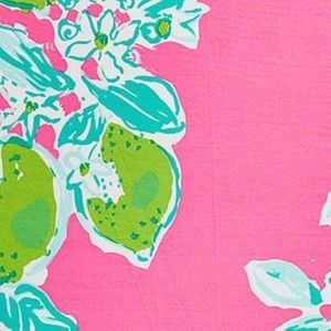 🌴NWT Lilly Pulitzer Fitted Sheet Pink Lemonade🌴